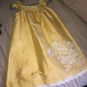 Janie and jack yellow dress